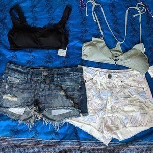 😎Shorts and Bikini Bundle🌞